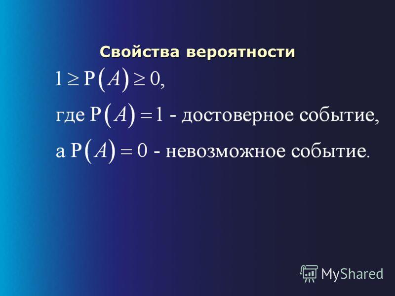 Вероятность: пример Русская рулетка с 1 патроном в барабане (7- зарядный револьвер)Русская рулетка с 1 патроном в барабане (7- зарядный револьвер) –7 элементарных несовместимых исходов –элементарные исходы равновозможны