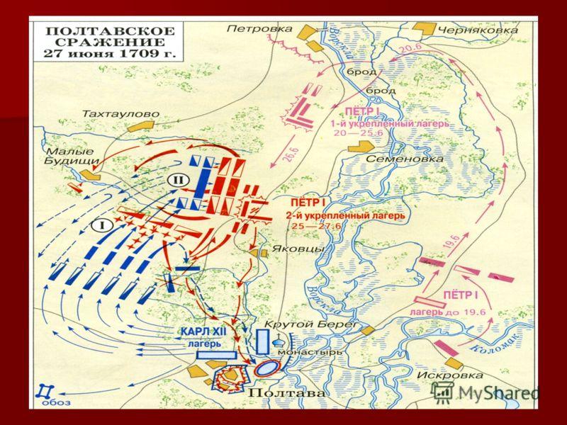 Соотношение сил перед боем. Русские Шведы Общее количество: 42 тысячи 30 тысячи человек человек Артиллерия: 102 орудия 39 орудий
