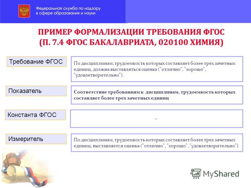По дисциплинам, трудоемкость которых составляет более трех зачетных единиц, должна выставляться оценка (