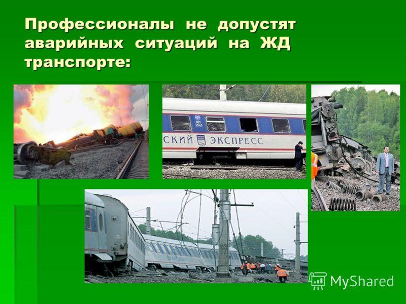 Профессионалы не допустят аварийных ситуаций на ЖД транспорте: