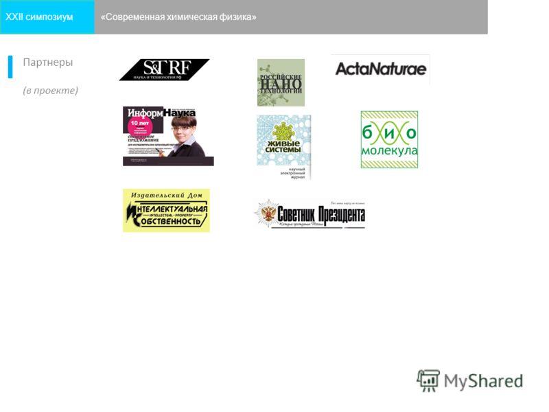 9 Партнеры (в проекте) XXII симпозиум«Современная химическая физика»