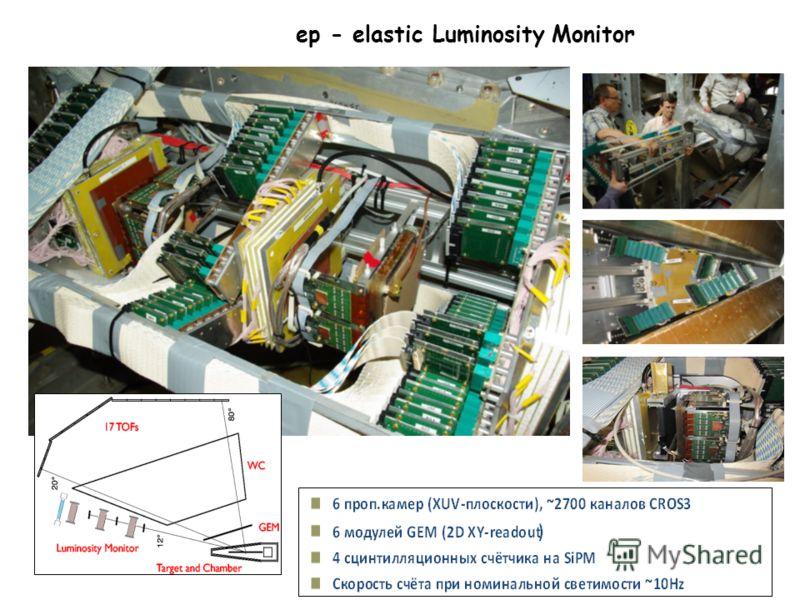 ep - elastic Luminosity Monitor