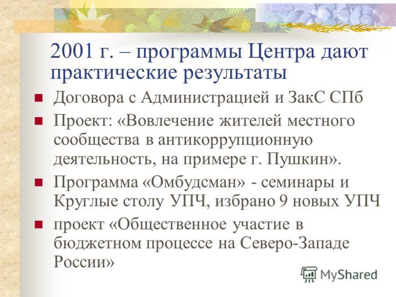 Встреча 2001 г.
