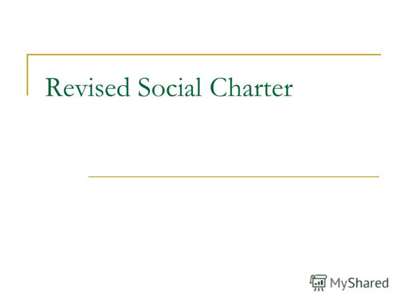 Revised Social Charter
