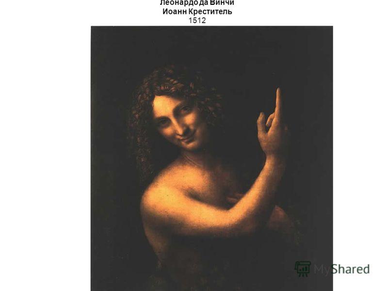Леонардо да Винчи Иоанн Креститель 1512