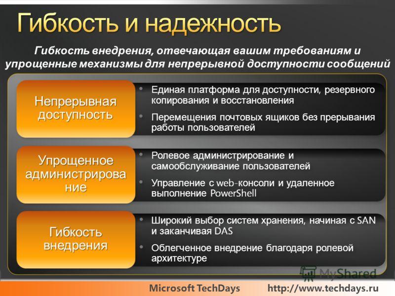 Microsoft TechDayshttp://www.techdays.ru Ролевое администрирование и самообслуживание пользователей Управление с web- консоли и удаленное выполнение PowerShell Ролевое администрирование и самообслуживание пользователей Управление с web- консоли и уда