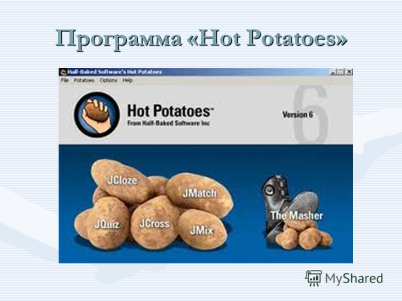 Программа «Hot Potatoes»