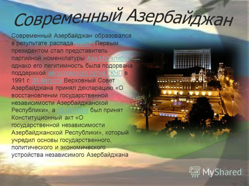 азербайджан фото современный