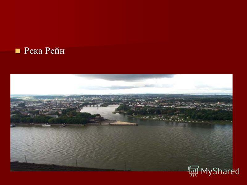 Река Рейн Река Рейн