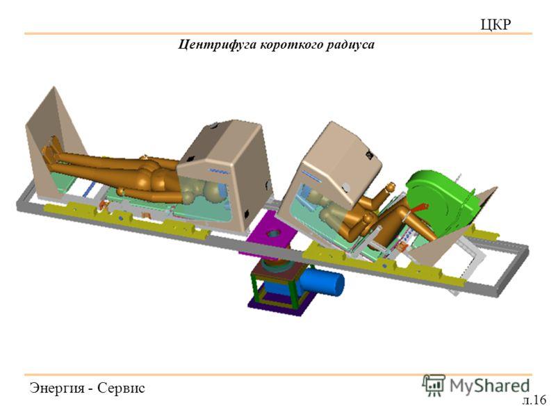 ЦКР Энергия - Сервис л.16 Центрифуга короткого радиуса