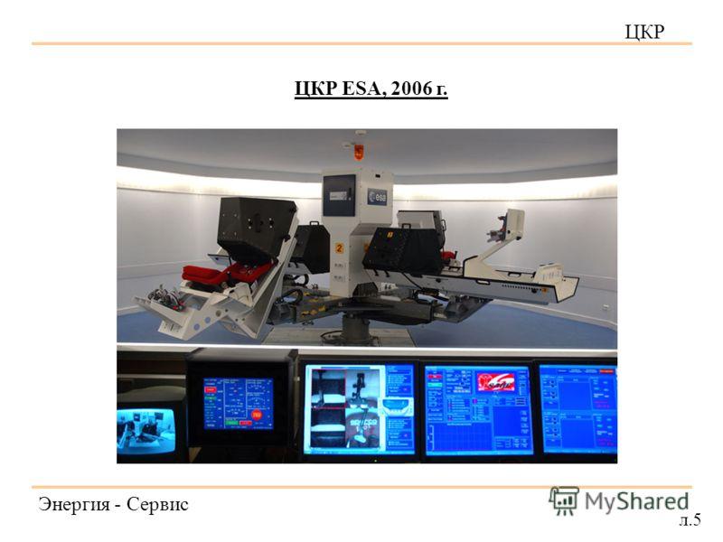 ЦКР Энергия - Сервис л.5 ЦКР ESA, 2006 г.
