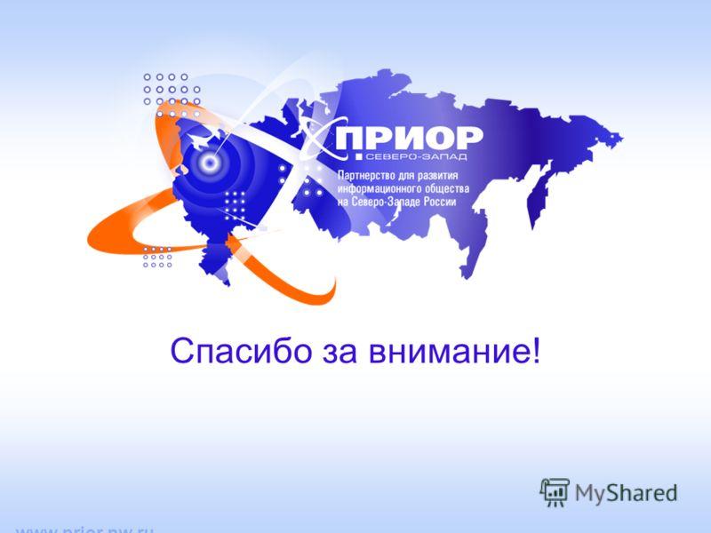 www.prior.nw.ru Спасибо за внимание!