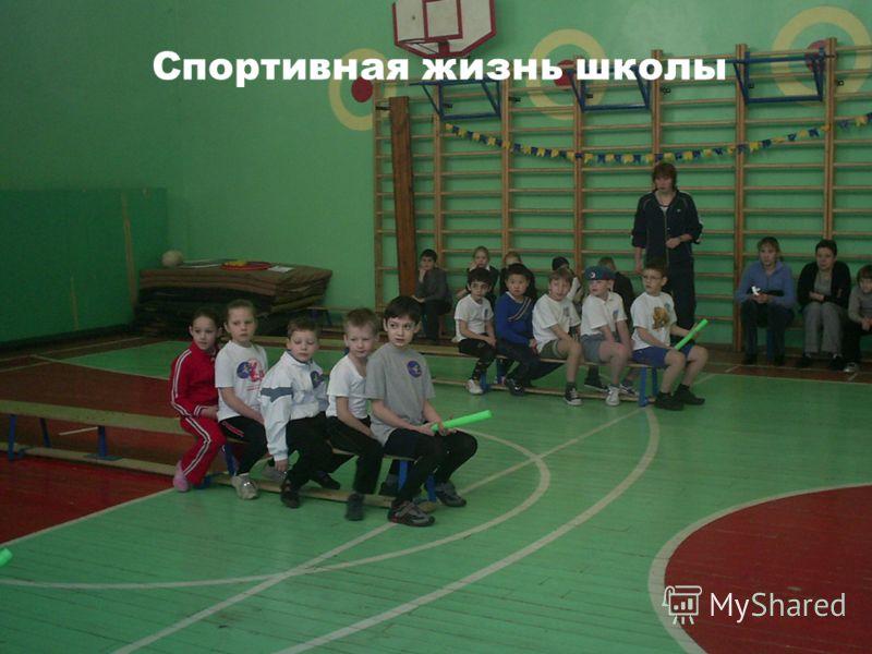 Спортивная жизнь школы