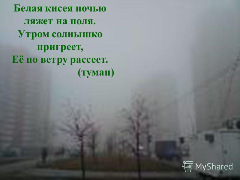 Люди ждут меня, зовут, А приду к ним – прочь бегут ( дождь )