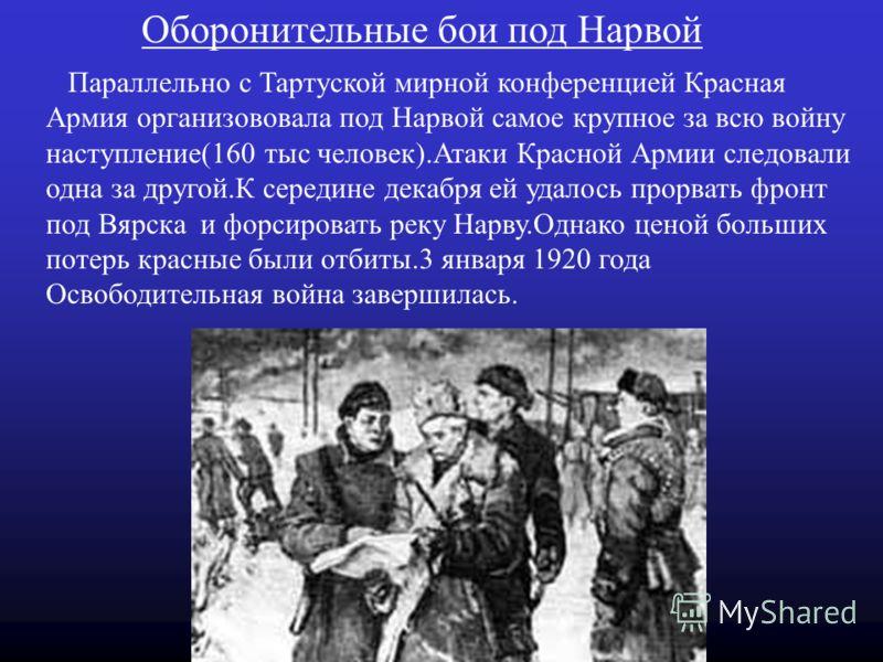 Начало мирных переговоров 31 августа 1919 года Москва обратилась к Этонии с официальным предложением о мире и 16 сентября во Пскове начался первый круг мирных переговоров.В этот раз переговоры зашли в тупик. Мирные переговоры возобновились 5 декабря