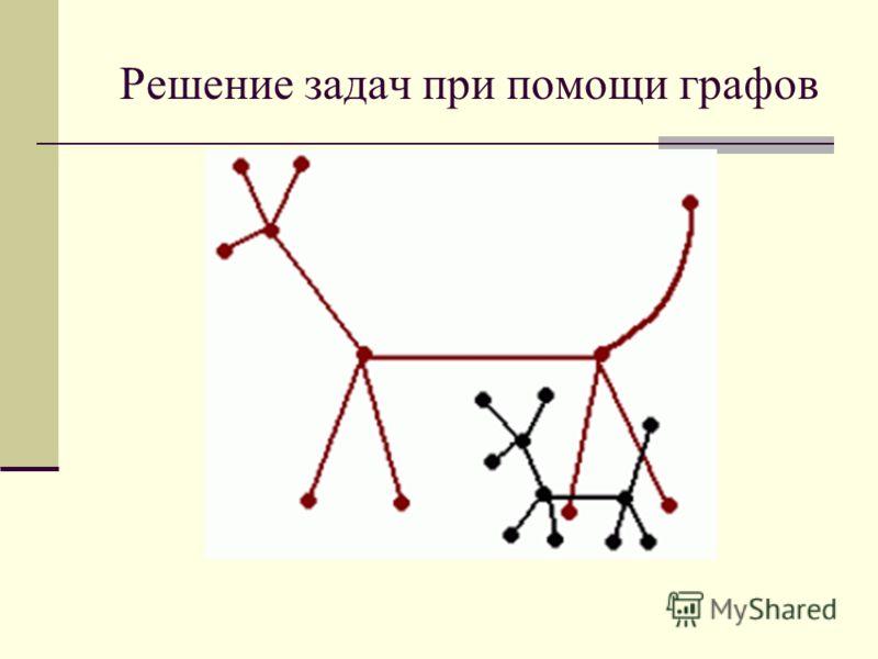 Решение задач при помощи графов