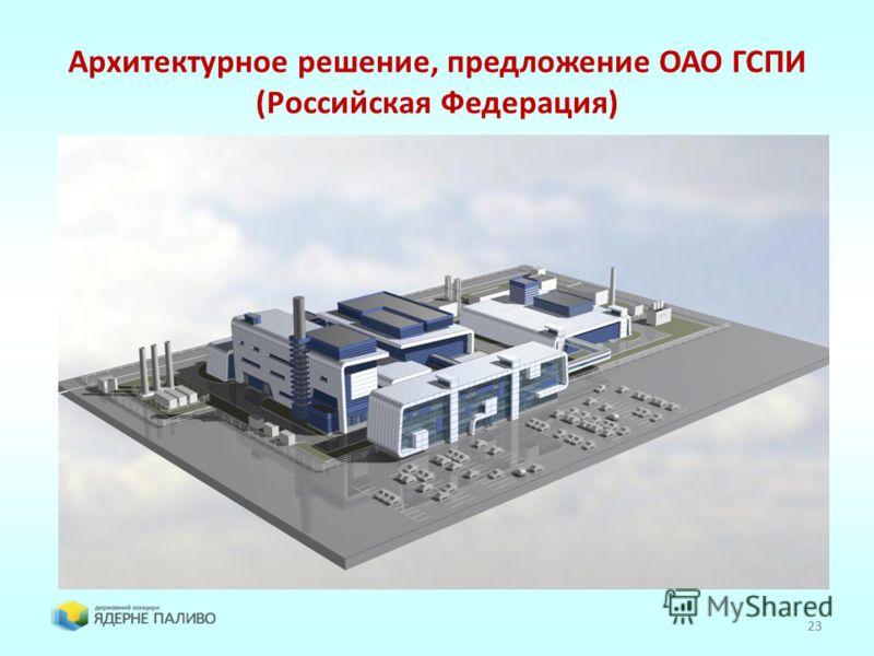 23 Архитектурное решение, предложение ОАО ГСПИ (Российская Федерация) 23