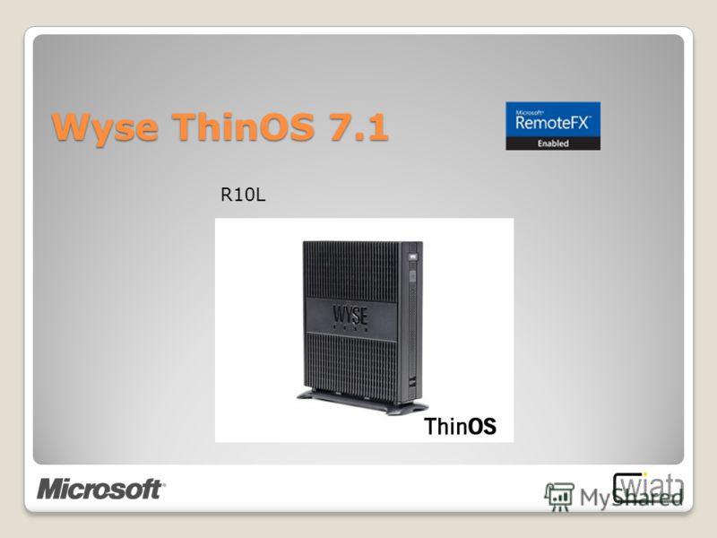 R10L Wyse ThinOS 7.1
