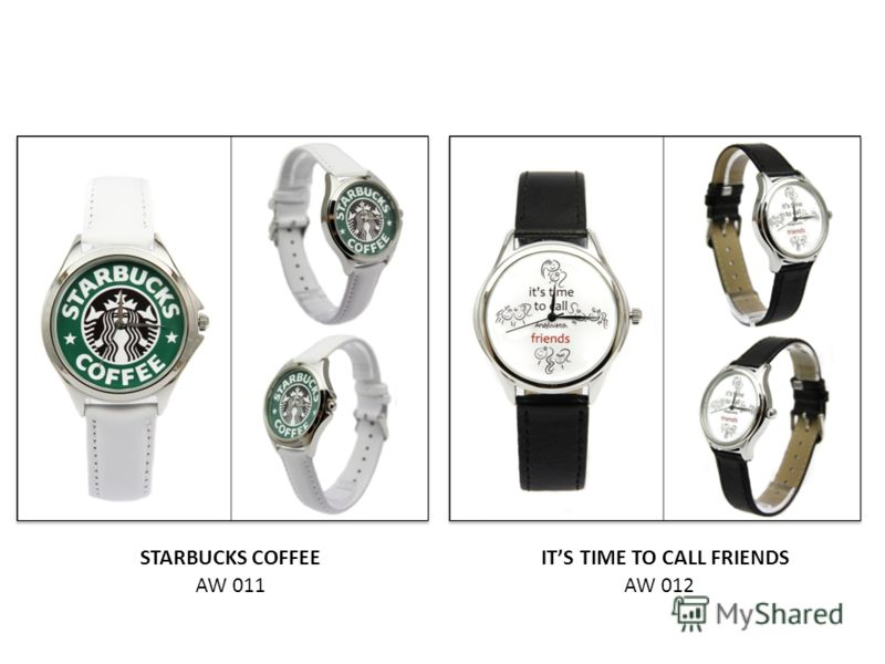 AW 011AW 012 STARBUCKS COFFEEITS TIME TO CALL FRIENDS