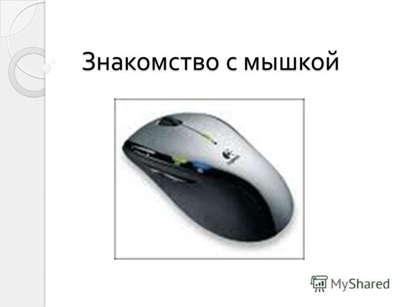 Знакомство с мышкой