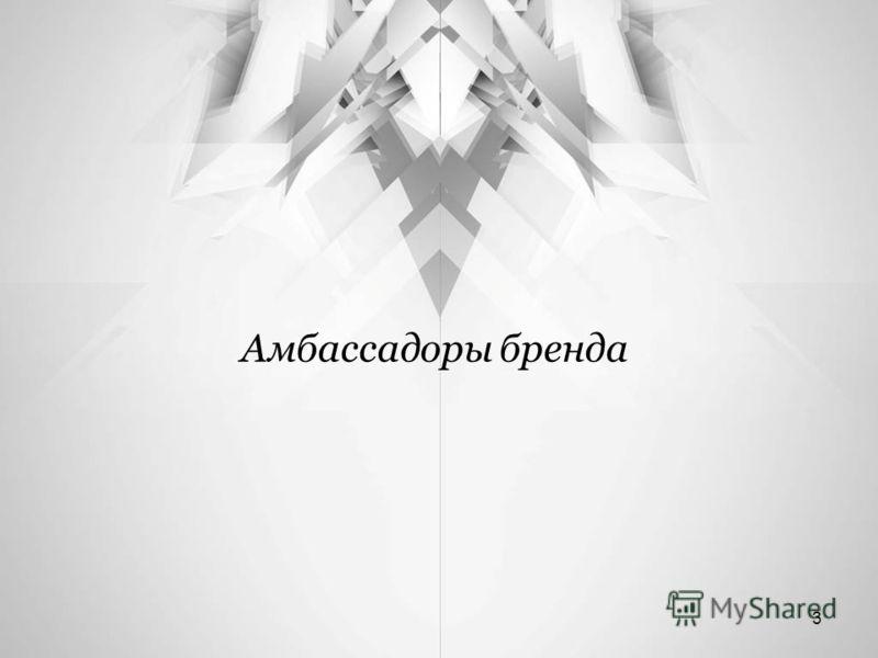 Амбассадоры бренда 3