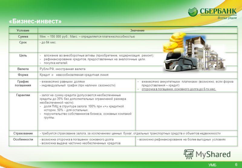 УМБ 6 «Бизнес-инвест»