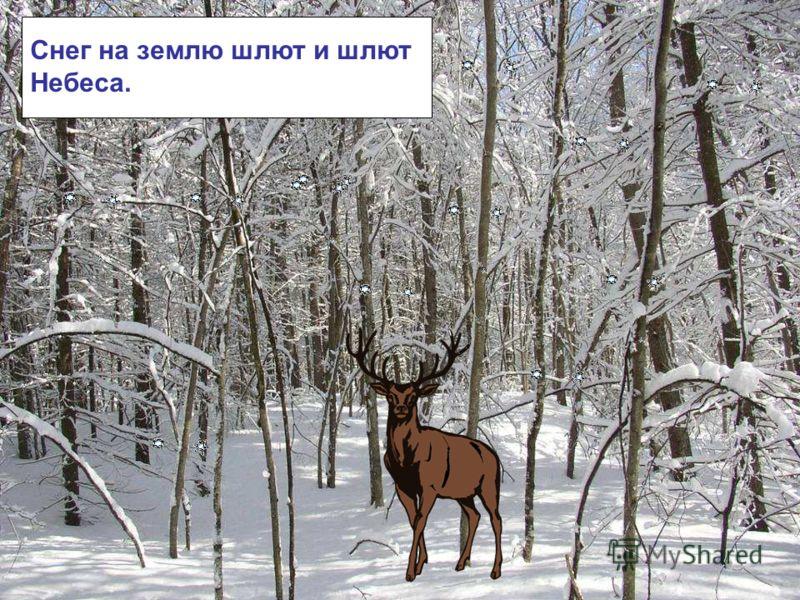 Снег на землю шлют и шлют Небеса. Снег на землю шлют и шлют небеса.