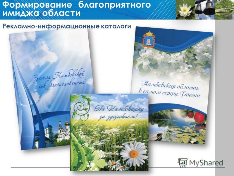 Рекламно-информационные каталоги Формирование благоприятного имиджа области