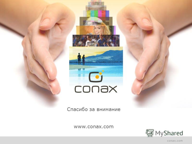 conax.com Спасибо за внимание www.conax.com