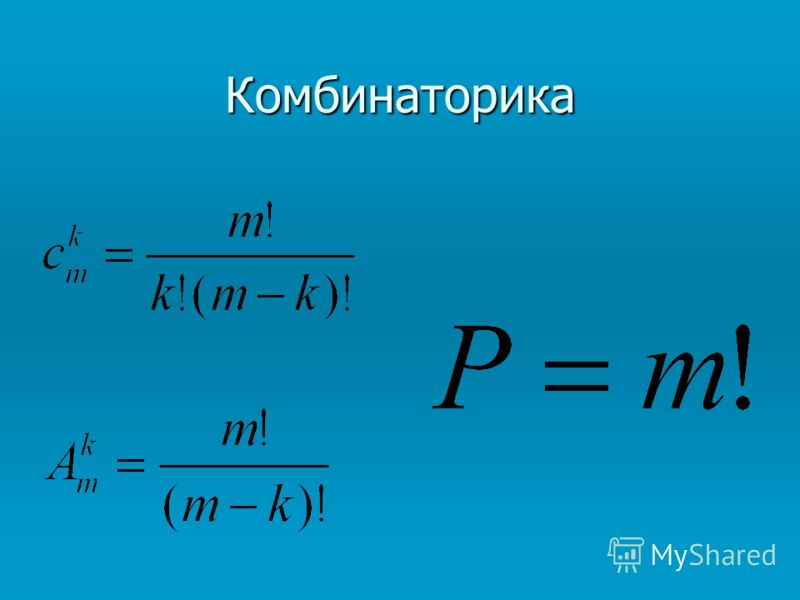 Комбинаторика Беляева Светлана Борисовна учитель второй категории