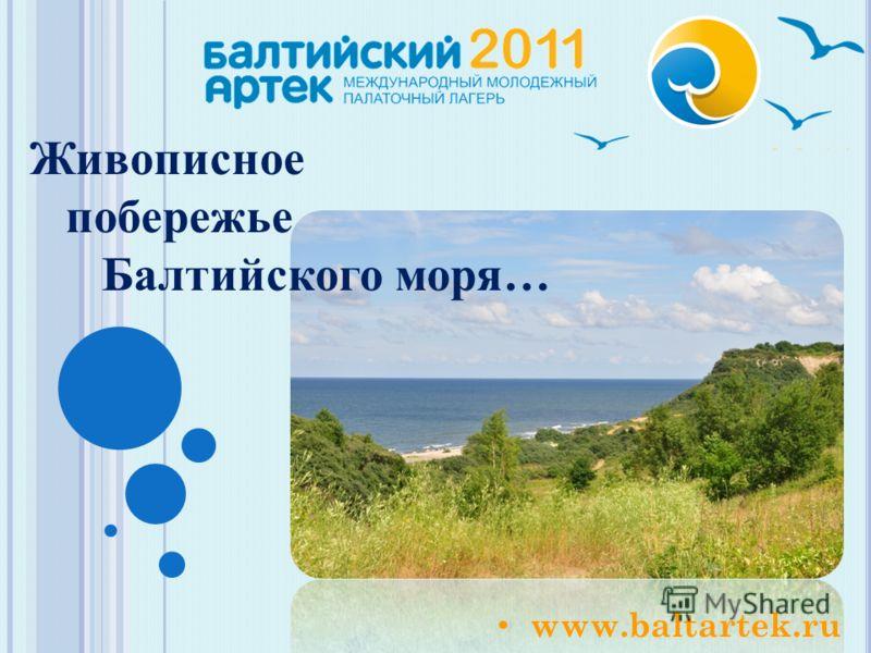 www.baltartek.ru Живописное побережье Балтийского моря…