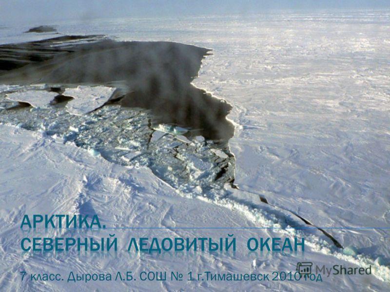 7 класс. Дырова Л.Б. СОШ 1 г.Тимашевск 2010 год