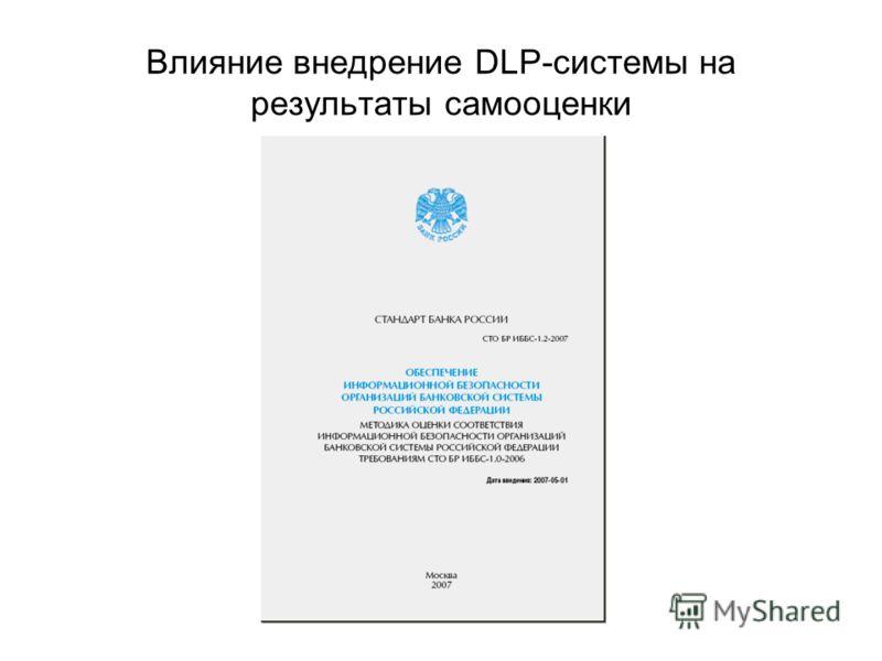 Влияние внедрение DLP-системы на результаты самооценки
