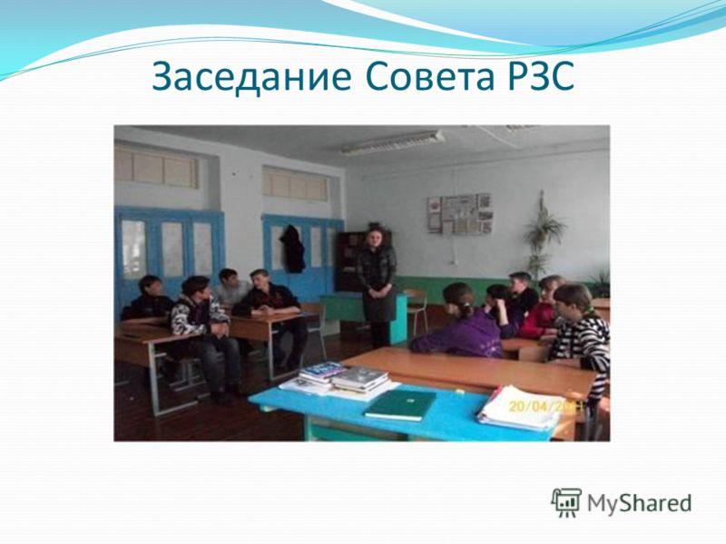 Заседание Совета РЗС