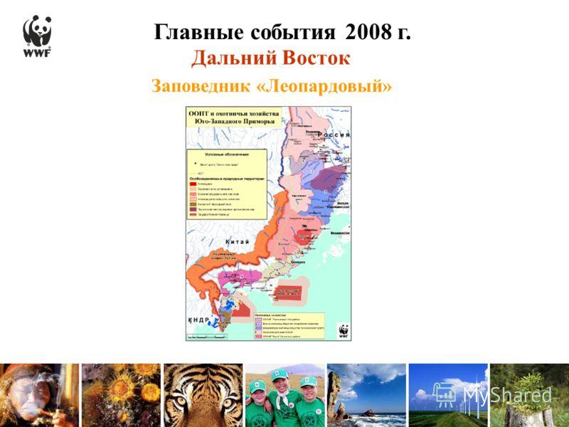 Главные события 2008 г. Заповедник «Леопардовый» Дальний Восток Поставить карте