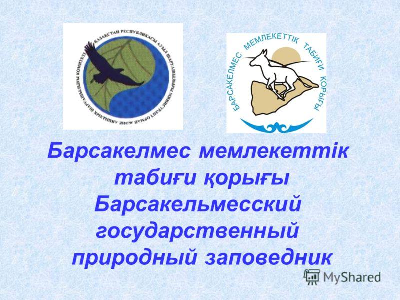 Барсакелмес мемлекеттік табиғи қорығы Барсакельмесский государственный природный заповедник