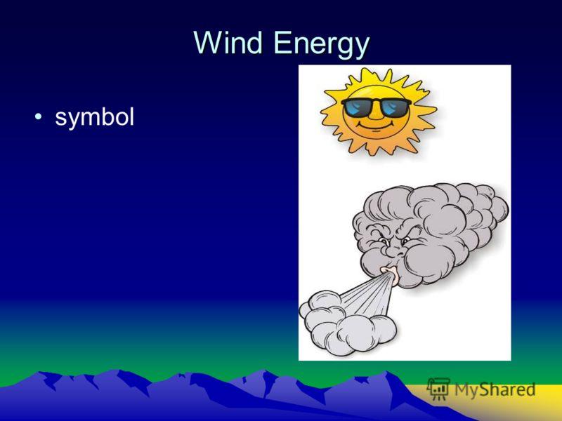Wind Energy symbol