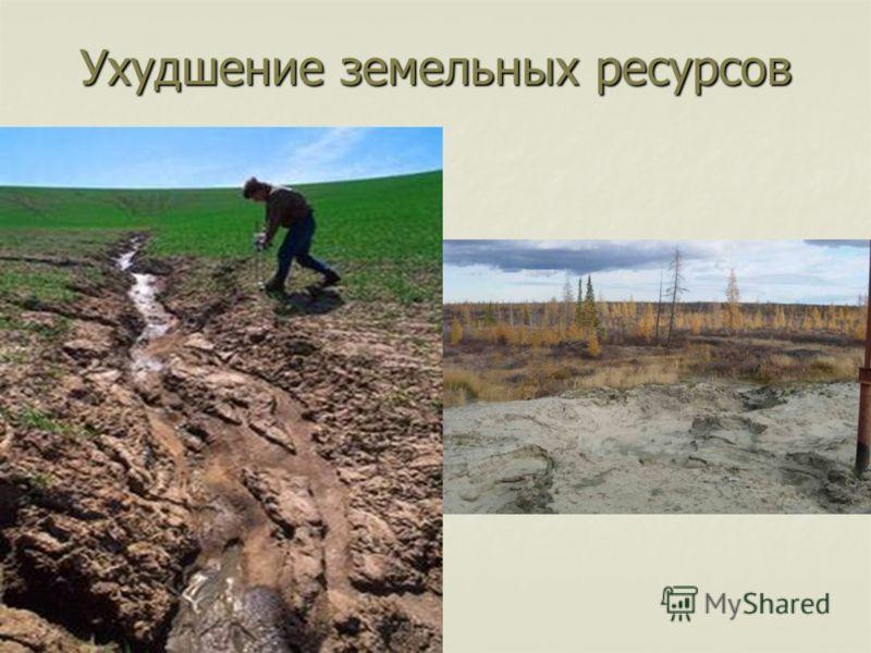 Ухудшение земельных ресурсов