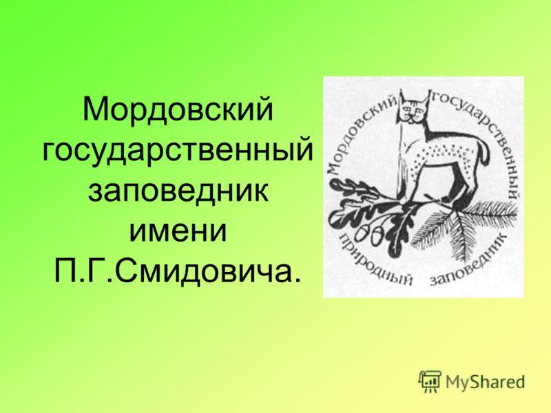 Мордовский государственный заповедник имени П.Г.Смидовича.