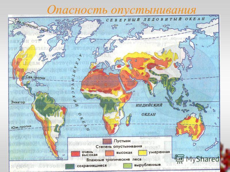 Опасность опустынивания