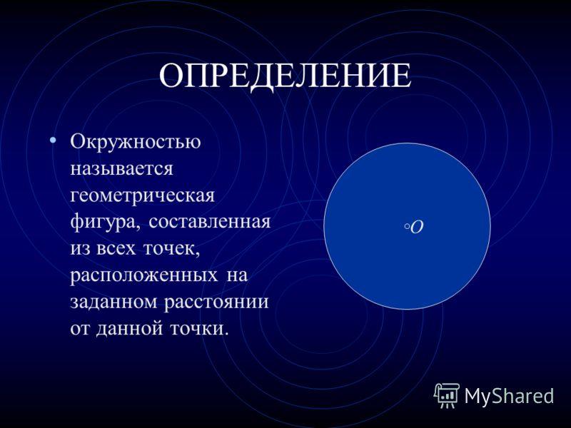 Окружность Геометрия-7 класс МОУ «Русско-Ошняковская ООШ» Учитель математики Закирова Ф.М.