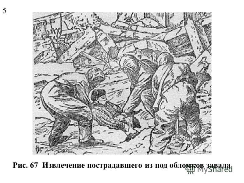 Рис. 66 Ведение спасательных работ в зоне ЧС 4