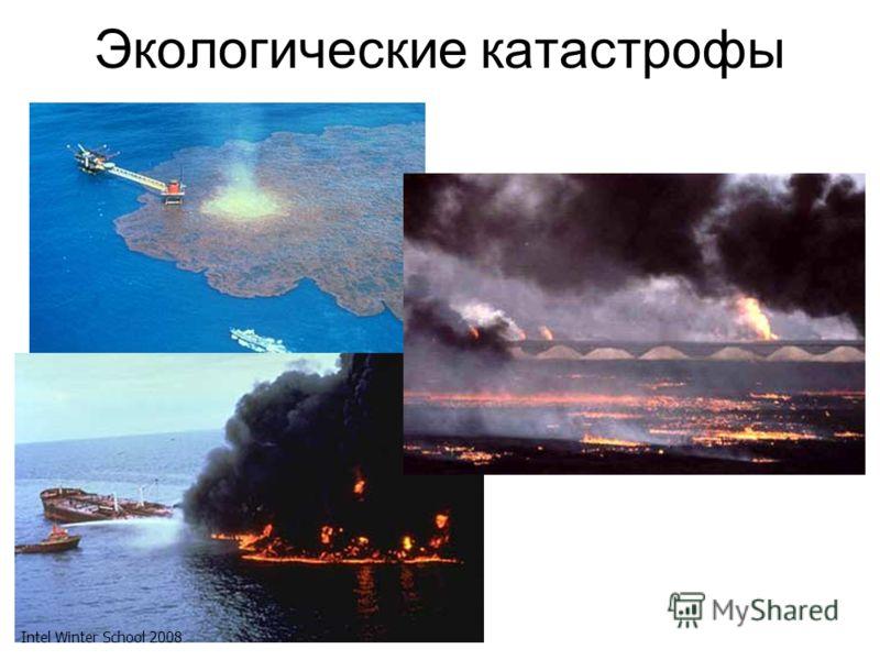 Экологические катастрофы Intel Winter School 2008