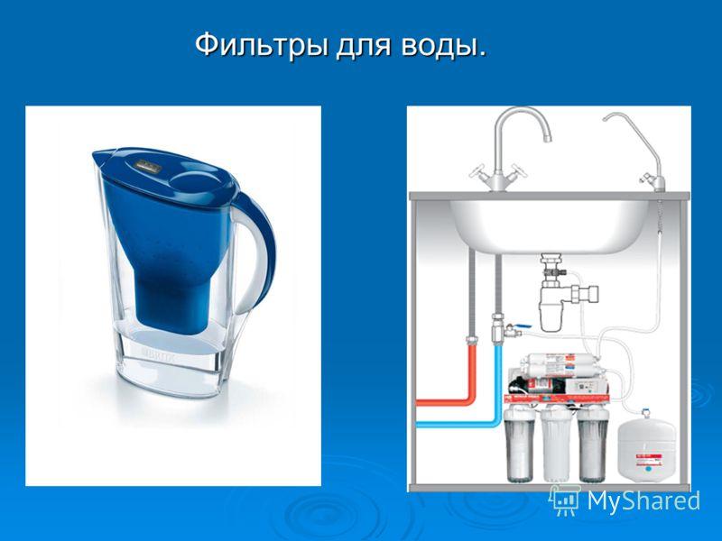Фильтры для воды. Фильтры для воды.