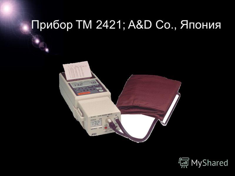 Прибор ТМ 2421; A&D Co., Япония