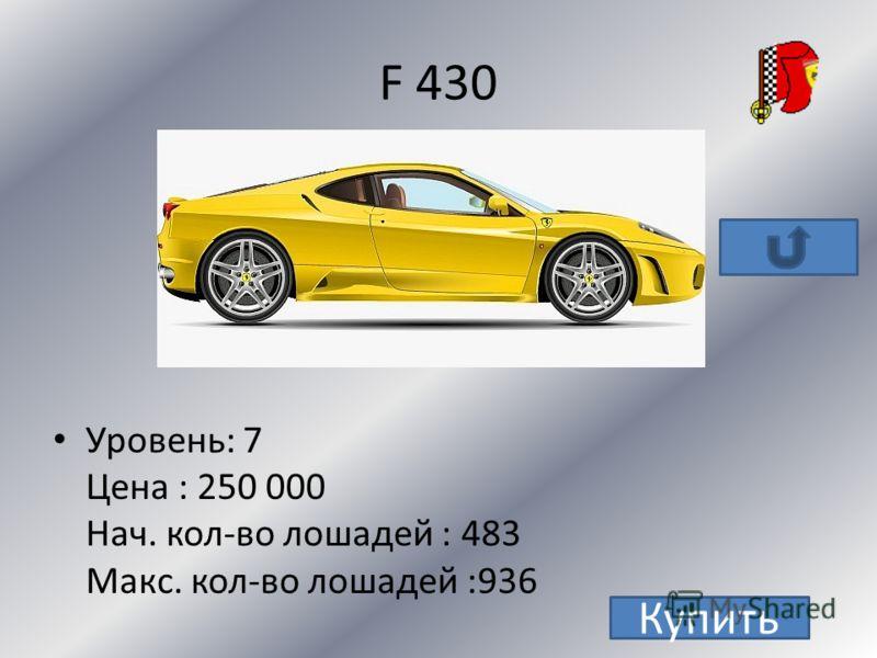Ferrari Enzo California 599xx F 430