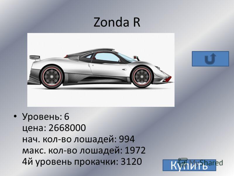 Pagani Zonda R