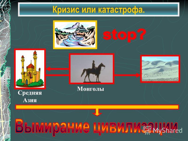 Кризис или катастрофа. Средняя Азия Монголы