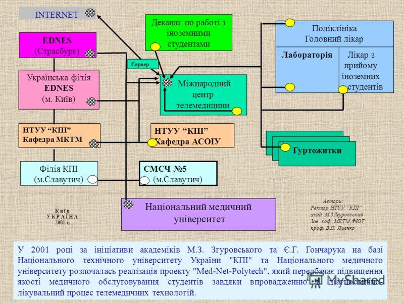 У 2001 році за ініціативи академіків М.З. Згуровського та Є.Г. Гончарука на базі Національного технічного університету України