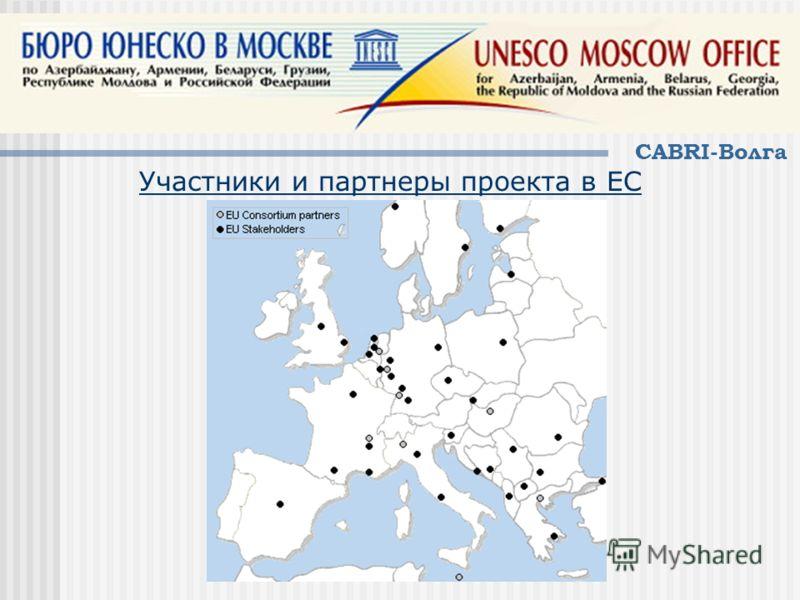 CABRI-Волга Участники и партнеры проекта в ЕС